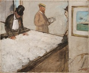 Edgar Degas, Cotton Merchants in New Orleans, 1873