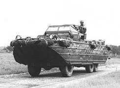 A DUKW during World War II