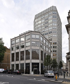 The Economist Building (until 2017), St James's Street, photo by Alison and Peter Smithson