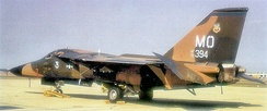 General Dynamics F-111F 70-2394, 347th TFW, Mountain Home AFB, 16 September 1972. In 1986, this aircraft took part in the raid on Libya, Operation El Dorado Canyon. To AMARC as FV0271 April 8, 1996. Still on AMARC inventory 15 January 2008