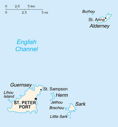 Guernsey and its sister islands that make up the Bailiwick