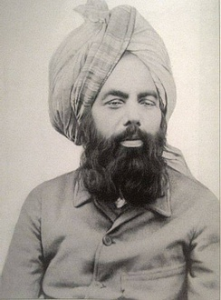 Mirza Ghuam Ahmad, founder of the Ahmadiyya movement