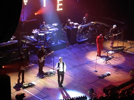 David Bowie Heathen Tour at the Beacon Theatre, 2002.