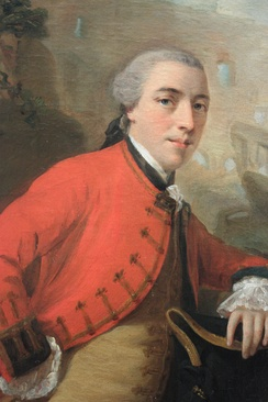 John Burgoyne, 1758, (after Allan Ramsay)