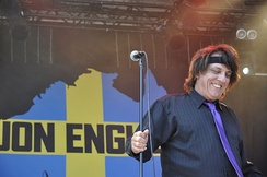 Jon English live at Sweden Rock Festival June 8, 2013
