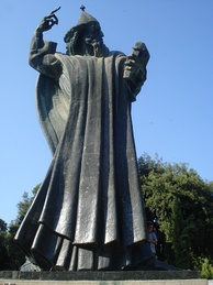 Statue of bishop Gregory of Nin, in the Giardin Park
