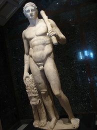 In Greek mythology, Heracles is synonymous with Apollonian masculinity.