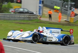 KCMG racing at Le Mans in 2013.