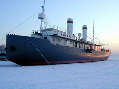 Angara [ru] was launched in 1900 and is one of the oldest surviving icebreakers