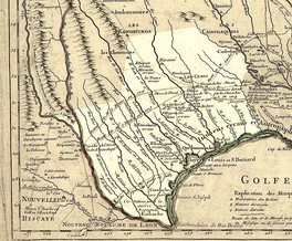 A map of Texas in 1718, by Guillaume de L'Isle