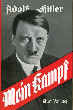 Dust jacket cover for People's Edition of Mein Kampf
