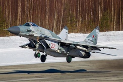 A Russian Air Force MiG-29SMT