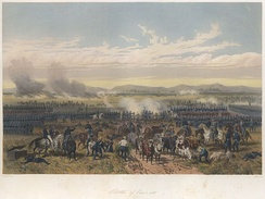 Battle of Palo Alto fought on May 8, 1846
