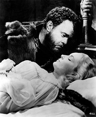 Welles and Suzanne Cloutier in Othello (1951)