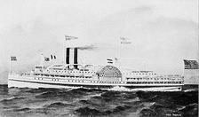Fall Line's steamer Providence, launched 1866