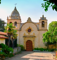 Mission San Carlos Borromeo del Río Caramelo, where Serra died, was founded in 1770.