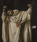 Saint Serapion, 1628, Wadsworth Atheneum