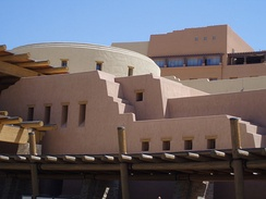 Sandia Casino, owned by the Sandia Pueblo of New Mexico
