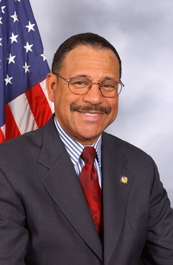 Sanford Bishop, who was re-elected as the U.S. Representative for the 2nd district