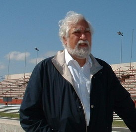Enrique Scalabroni in 2006 at the Albacete Circuit in Spain.