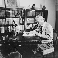 Ivo Andrić in his study