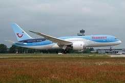 Thomson Airways 787-8 at Hannover Airport in June 2013