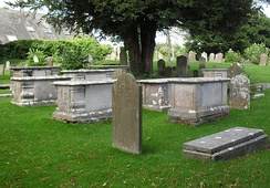 Several tombs at Patcham's All Saints Church are Grade II-listed.