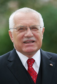 Václav Klaus, former Eurosceptic President of the Czech Republic.