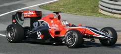 Virgin Racing had aerodynamic problems during the tests in Jerez and Barcelona.