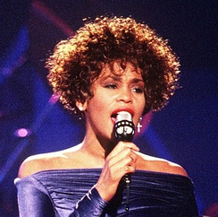 Whitney Houston was the second most selling female artist of the 1990s, behind Mariah Carey