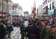 Conferring the Freedom of Huddersfield on the Yorkshire Regiment 25 October 2008