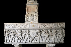 Sarcophagus of the Museo Pio-Clementino (Vatican Museums).