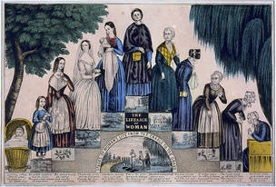 The life of a woman such as could be imagined in the Victorian world around 1840.