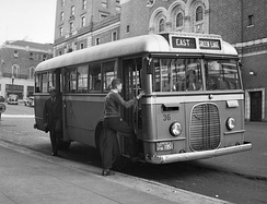 A 1937 Ford Transit Bus in Seattle