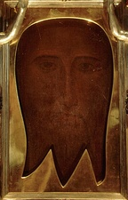 The Holy Face of San Silvestro, now in the Matilda chapel in the Vatican.