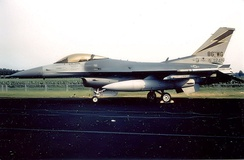 86th TFW General Dynamics F-16C Block 30F Fighting Falcon AF Serial No. 87-0242