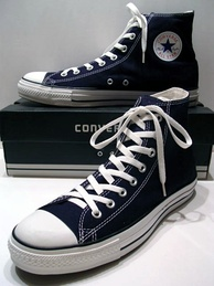 A pair of Converse All-Stars