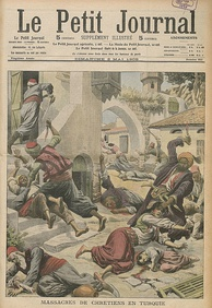 A massacre of Armenians and Assyrians in the city of Adana, Ottoman Empire, April 1909