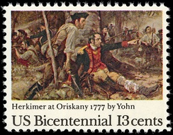 General Nicholas Herkimer, commander at the Battle of Oriskany in 1777 and namesake of Herkimer County