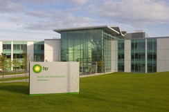 BP North Sea Headquarters, built by the Bowmer and Kirkland group at a cost of £50 million