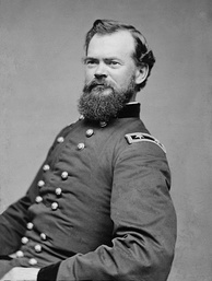 Major General McPherson, third commander of the Army of the Tennessee