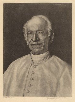 Charles M. Johnson, Pope Leo XIII, 1899, National Gallery of Art