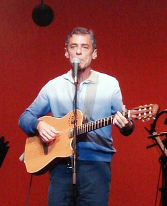 Chico Buarque performs in 2007.