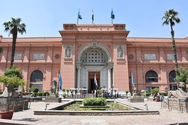 The Egyptian Museum in Cairo.