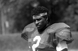 Deion Sanders is one of eleven Seminoles whose numbers have been honored.
