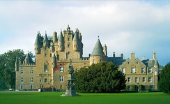 Glamis Castle, the Strathmores' Scottish home