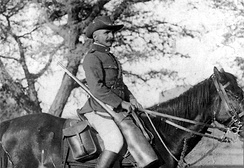 German cavalryman in September 1914, German South-West Africa.