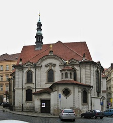 Dvořák played organ at St. Adalbert's Church in Prague from 1874 to 1877.