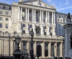 The Bank of England, established in 1694.
