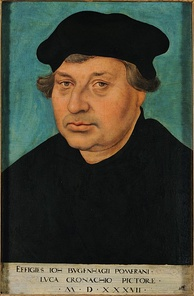 Johannes Bugenhagen introduced Protestantism in Denmark.